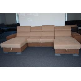 Petra + hr hab ottomános u alakú kanapé