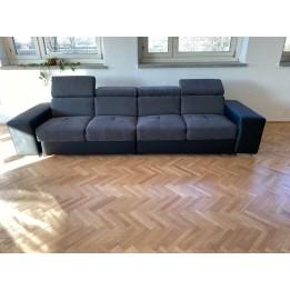 Petra + hr hab óriás egyenes kanapé