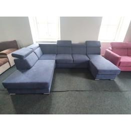 Timi karfa nélküli u alakú kanapé