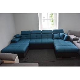 Monza u alakú kanapé