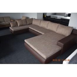 Alessia U alakú kanapé