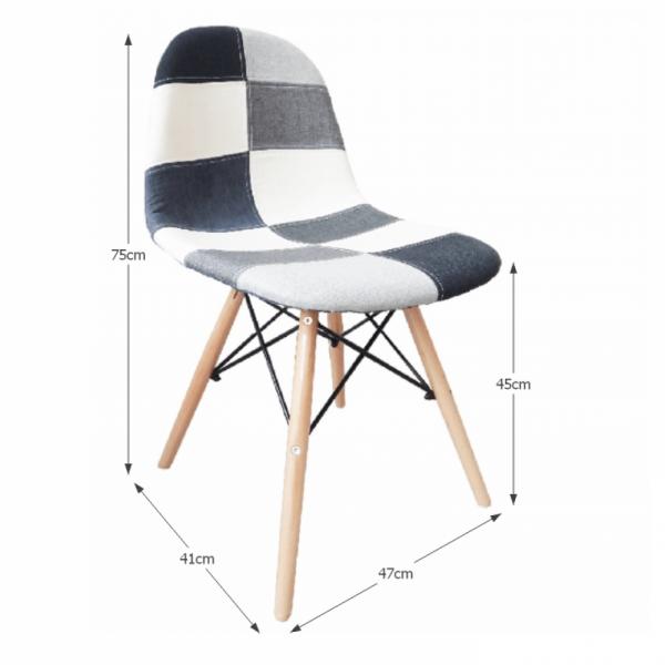 Candie new modern szék TYP 3