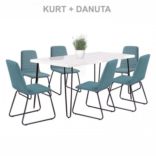 Kurt étkezőasztal