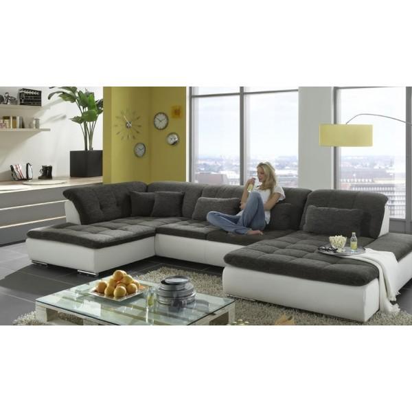 Jaguár u alakú kanapé