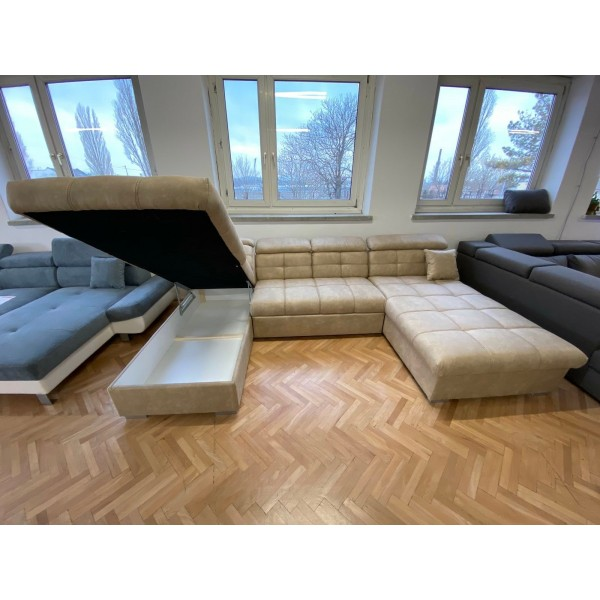 Capri u alakú kanapé / AZ ORSZÁGBAN CSAK MI GYÁRTJUK /