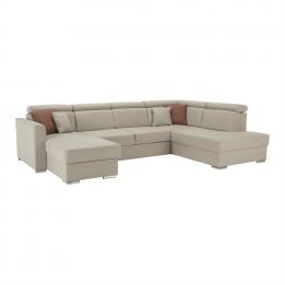 Marieta u alakú bézs kanapé