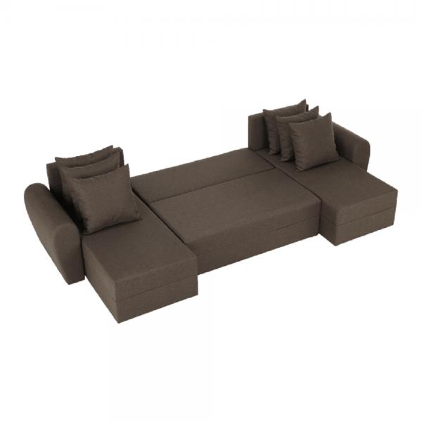 Tiger barna u alakú kanapé