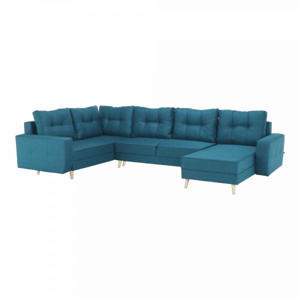 Vincent türkiz u alakú kanapé